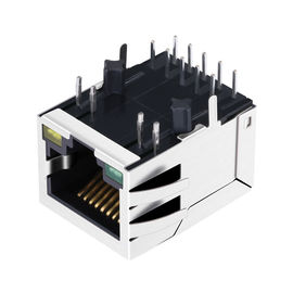 2.5G Magnetic RJ45 Modular Jack LPJG0934-8GENL JKM-2500NL Single Port